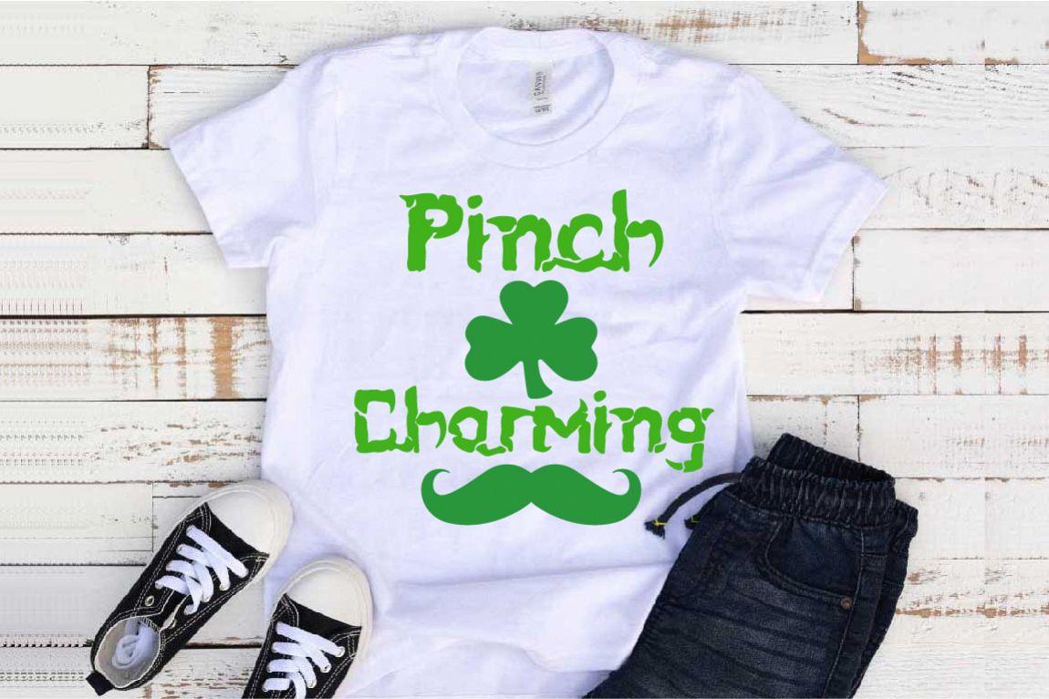 Pinch Charming SVG St. Patricks Day SVG Shamrock 1257S example image 1
