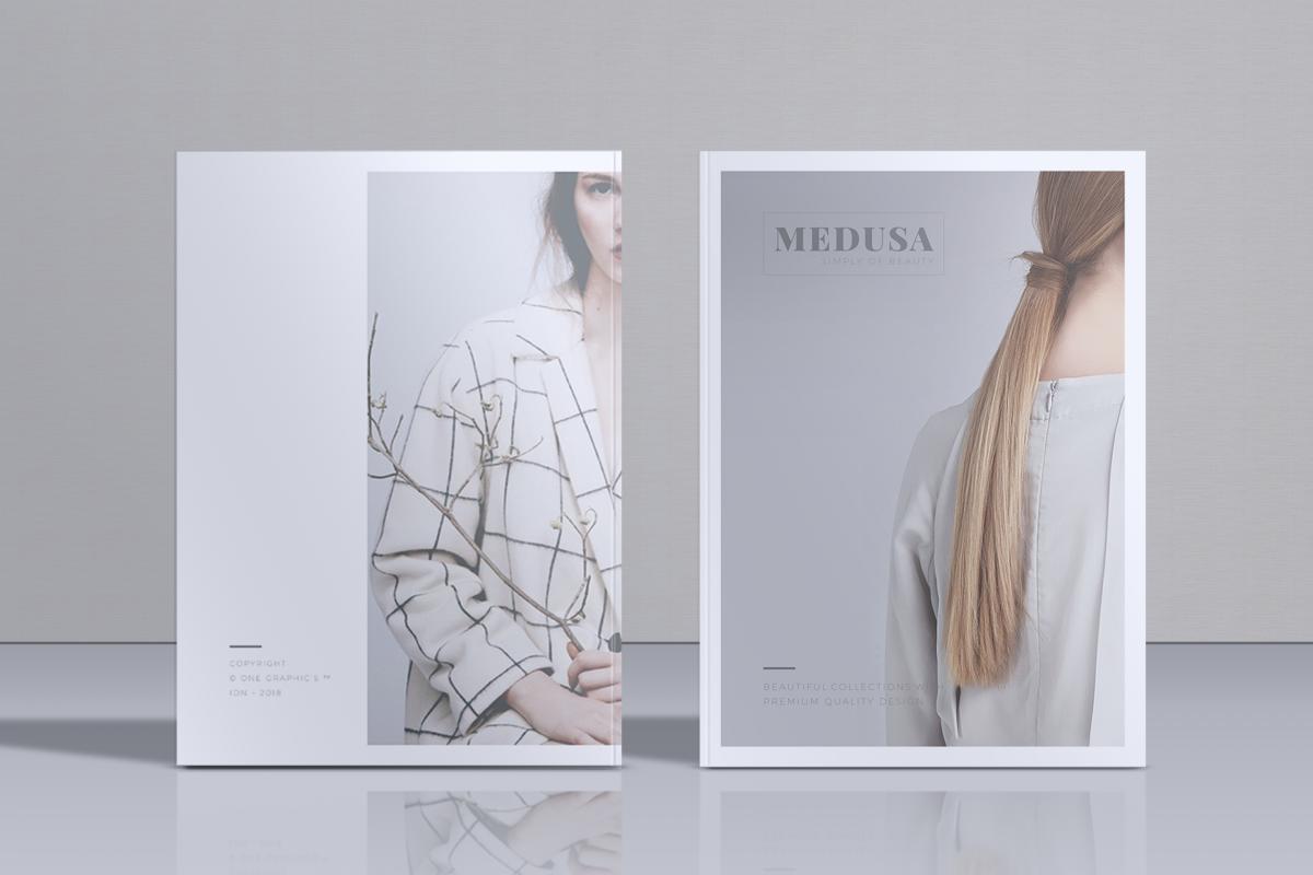 MEDUSA Minimal Lookbook Magazines example image 1