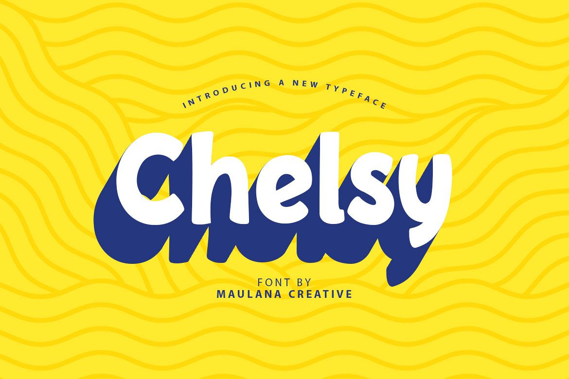 Chelsy - Cute Font Sans example image 1