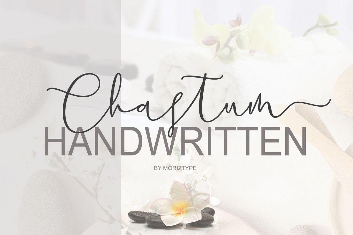 Chastum Handwritten example image 1