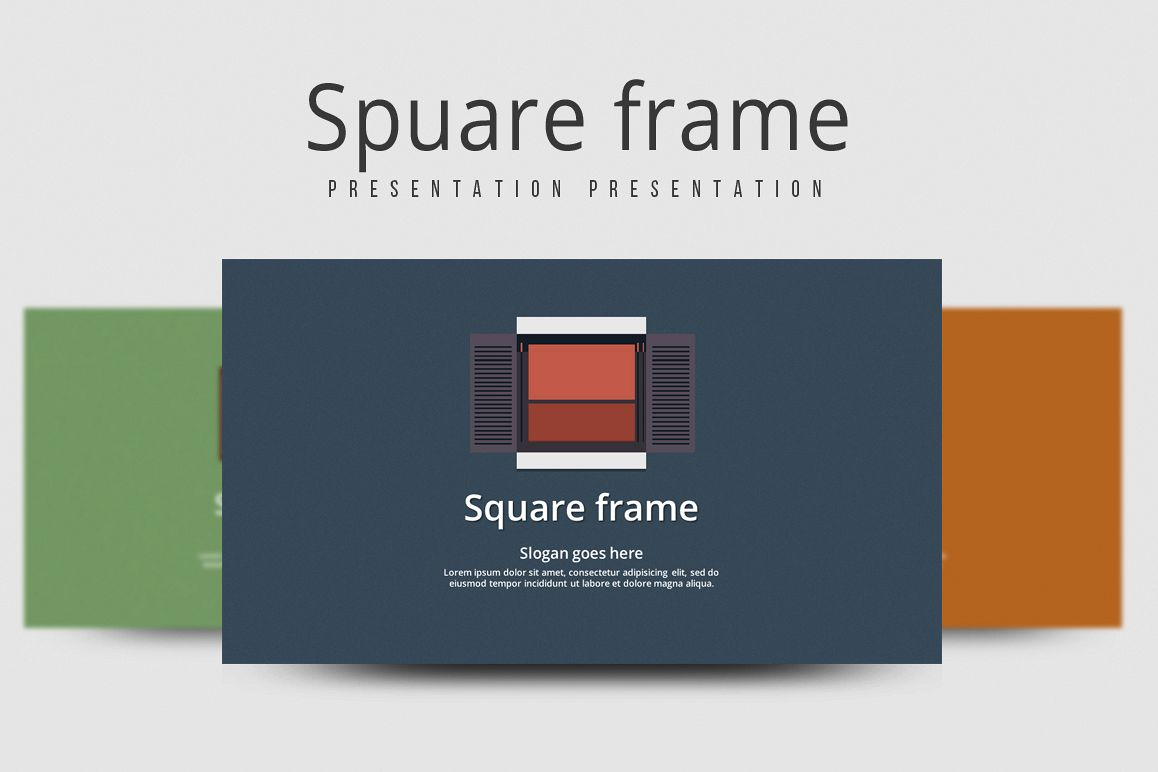 Frame PPT Template example image 1