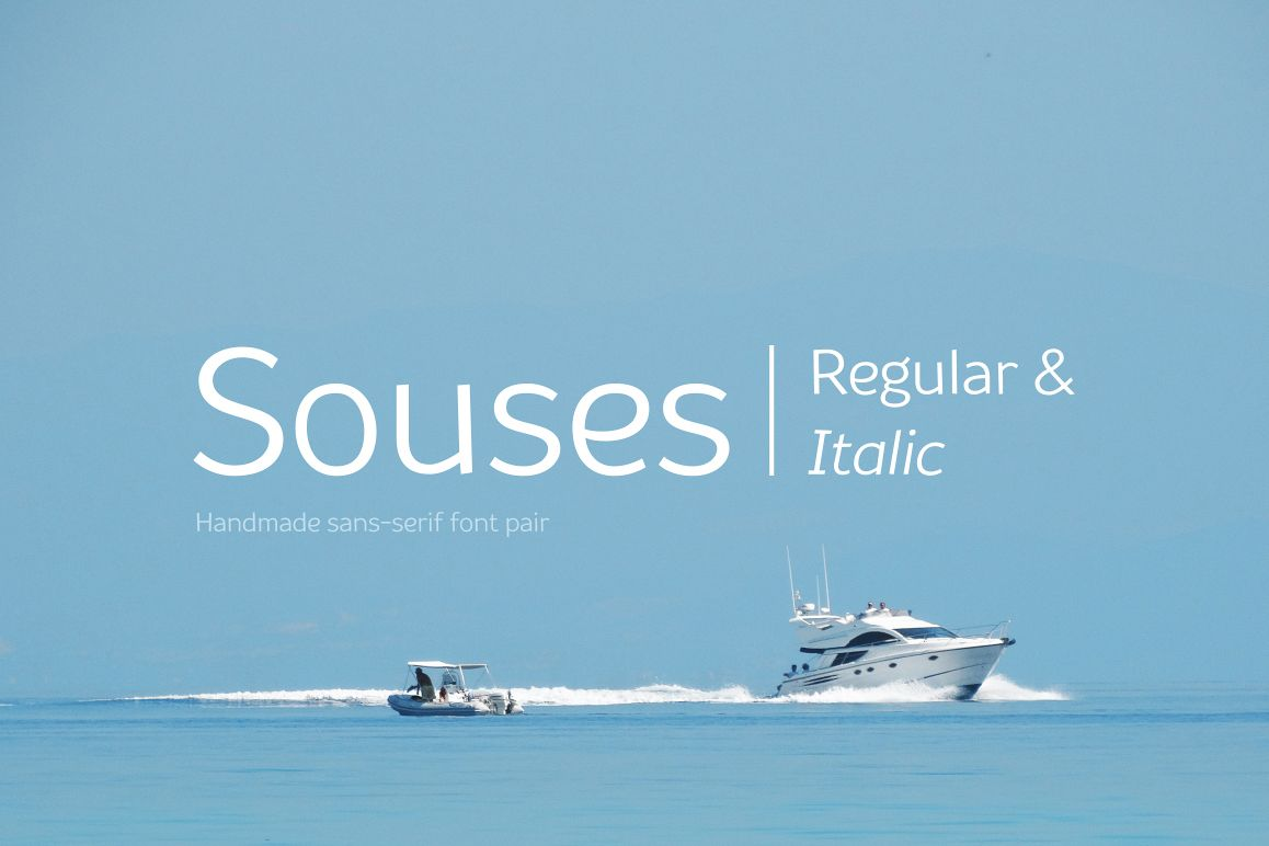 Souses — Regular & Italic example image 1