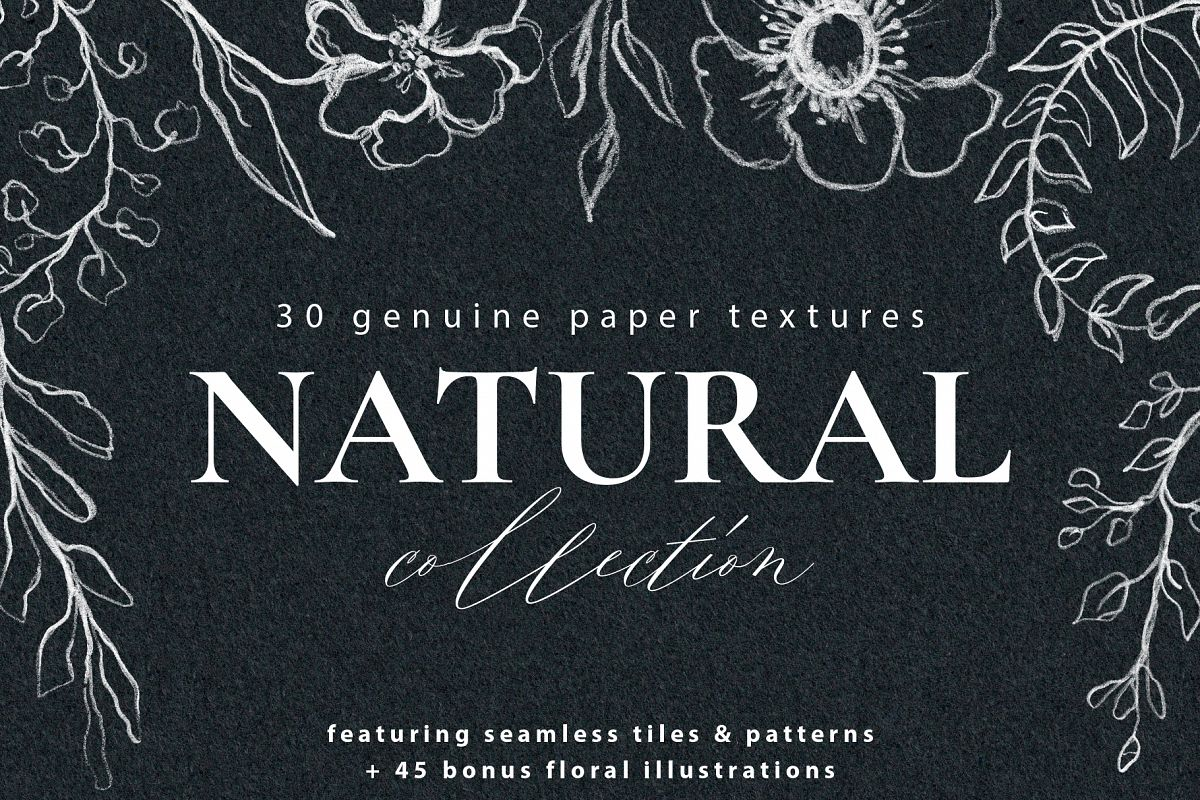 Watercolor Paper Texture Collection example image 1