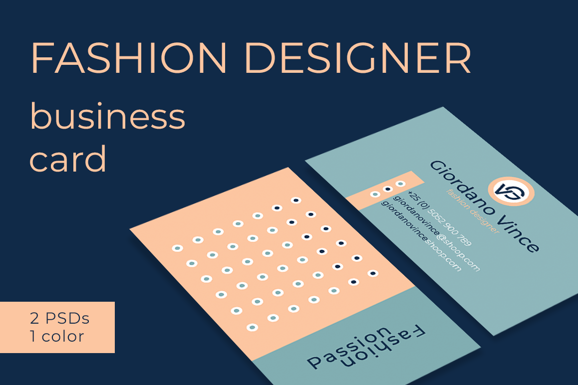 Fashion designer business card by felic design bundles fashion designer business card example image colourmoves