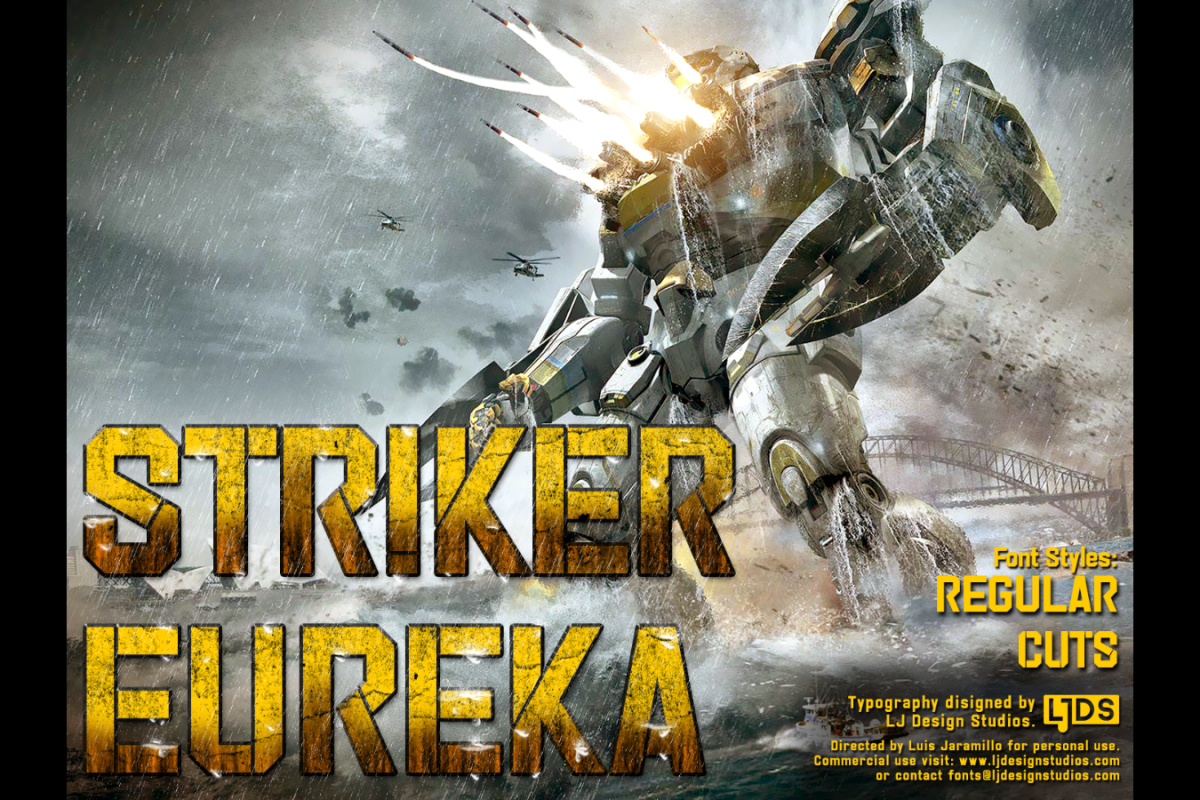 Striker Eureka example image 1