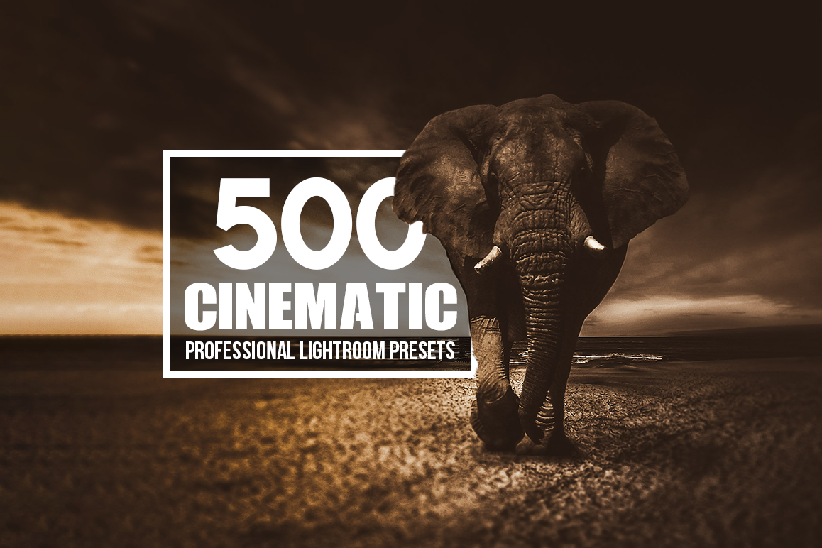 Cinematic - 500 Lightroom Presets example image 1