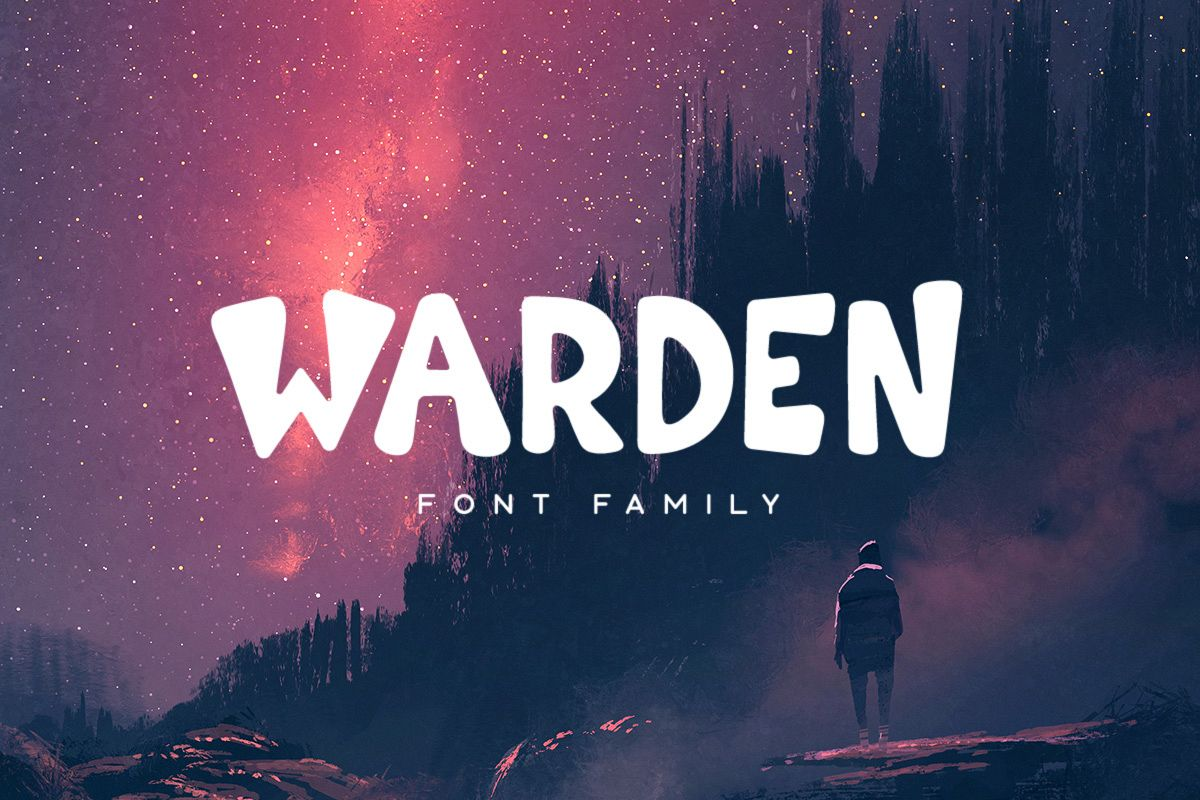 Warden Typeface example image 1