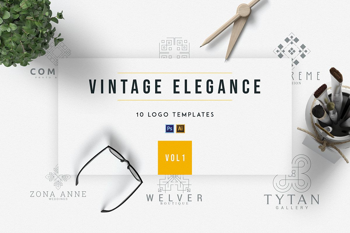 Vintage Elegance | vol.1 example image 1