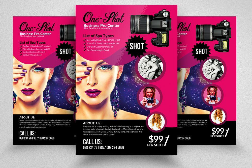 Photography Studio Flyer Template example image 1