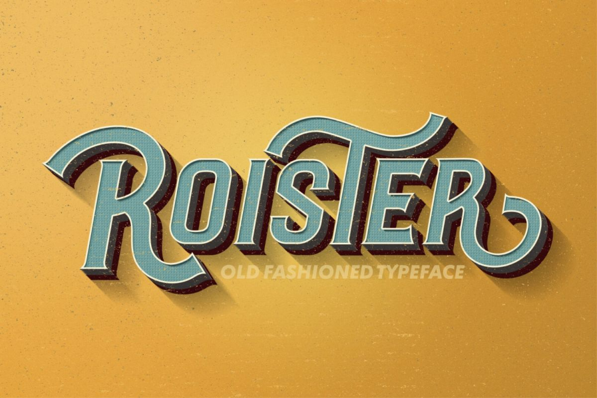 Roister Typeface example image 1