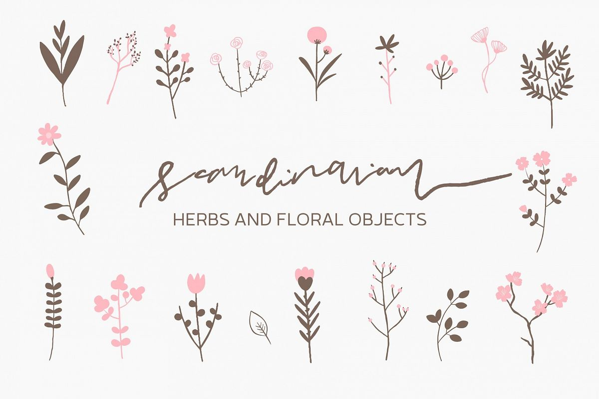 Scandinavian - Herbs and Flowers example image 1
