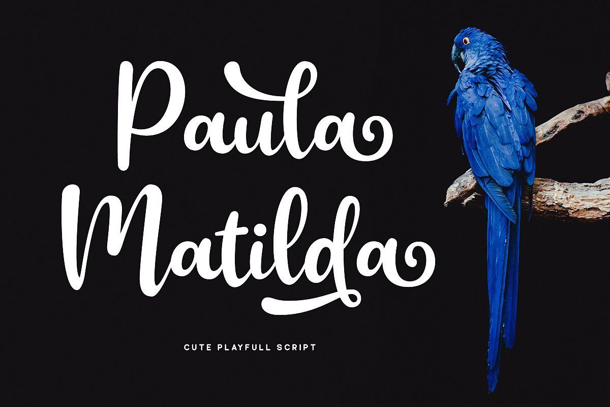 Paula Matilda Font example image 1