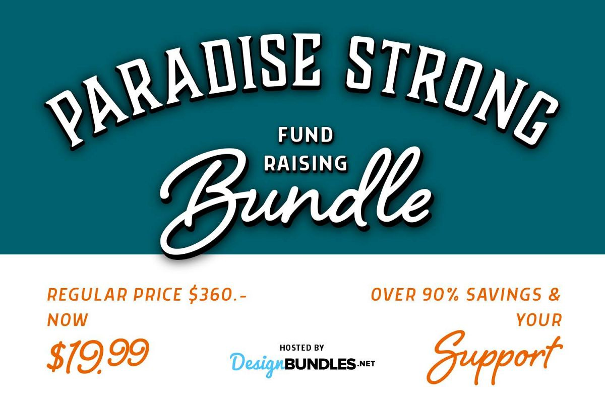 Paradise Strong Fundraising Bundle example image 1