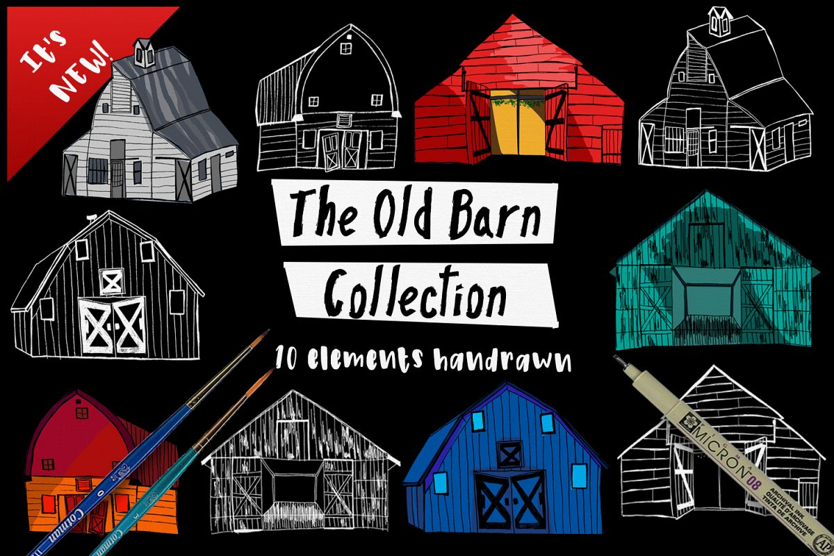 The Old Barn  example image 1
