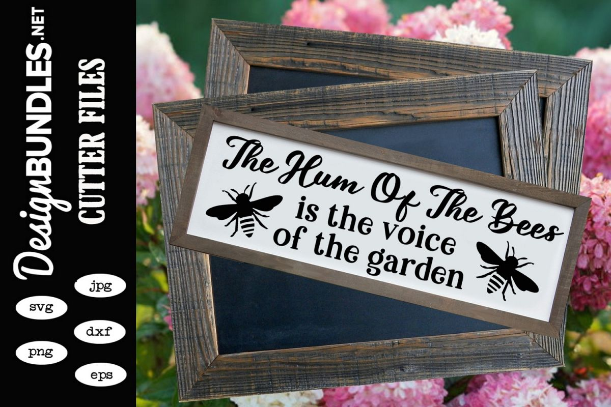 The Hum Of The Bees SVG example image 1