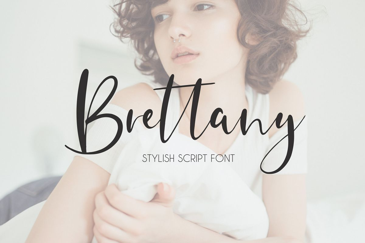 Brettany Script Font example image 1
