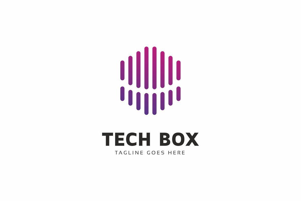Tech Box Logo example image 1