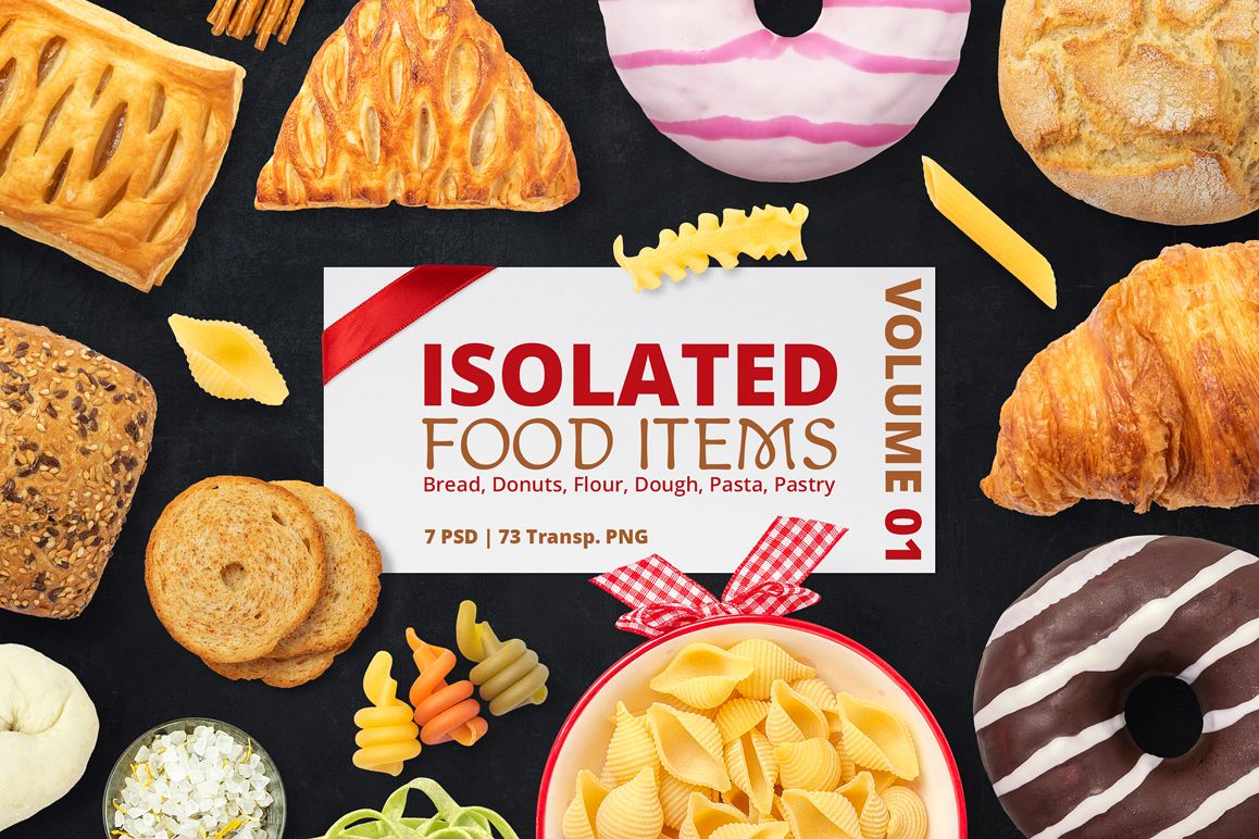 Isolated Food Items Vol.1 example image 1