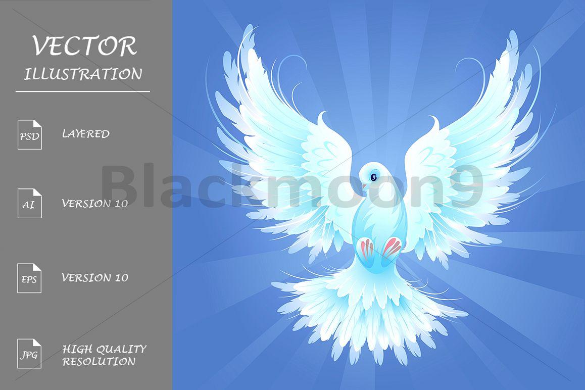 White dove example image 1