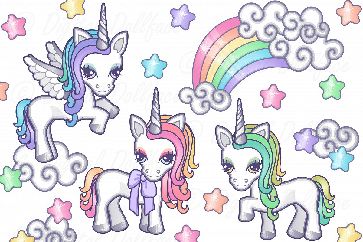 Magical Unicorns example image 1