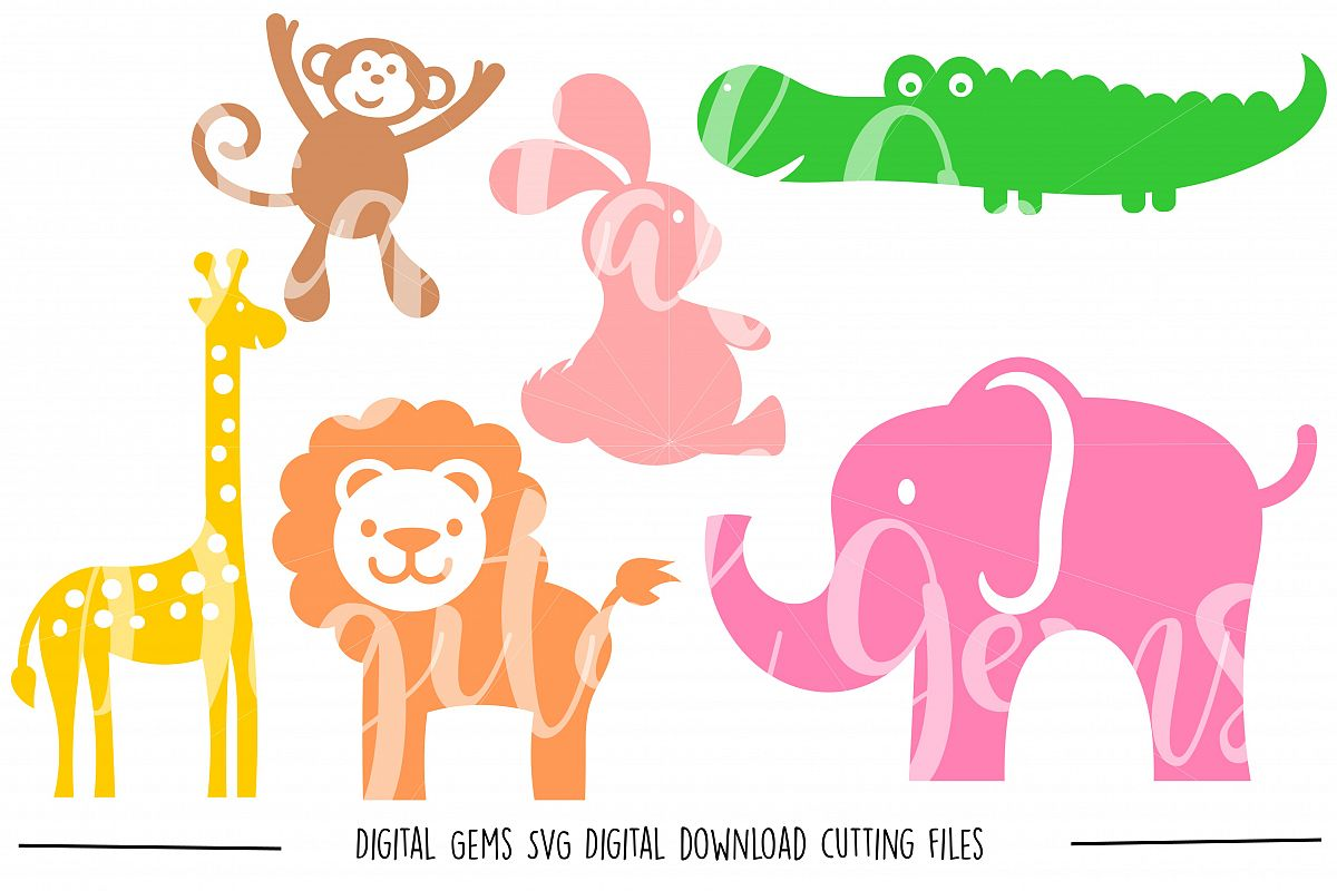 Animal SVG / DXF / EPS / PNG files example image 1