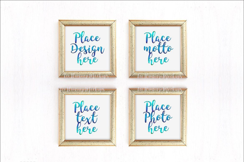 Bundle set of 4, set of 2 frames and on | Design Bundles