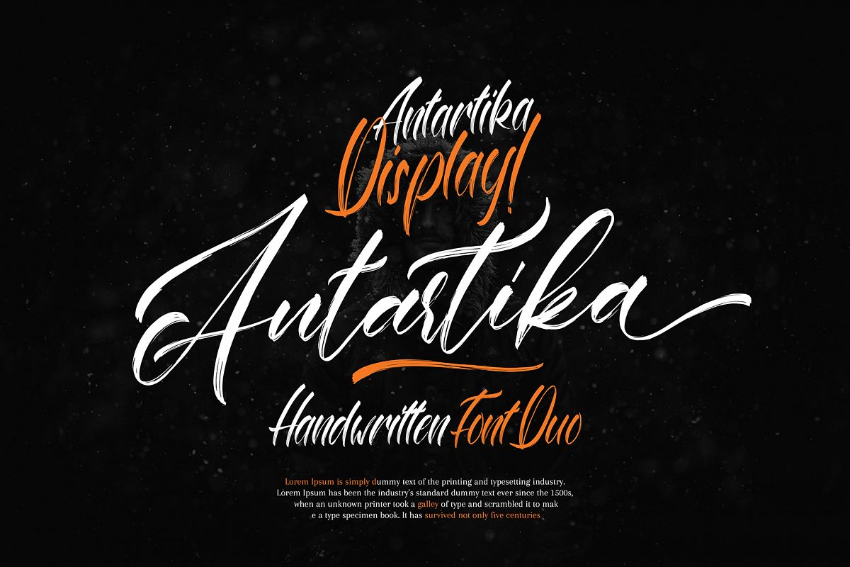 Antartika font Duo example image 1