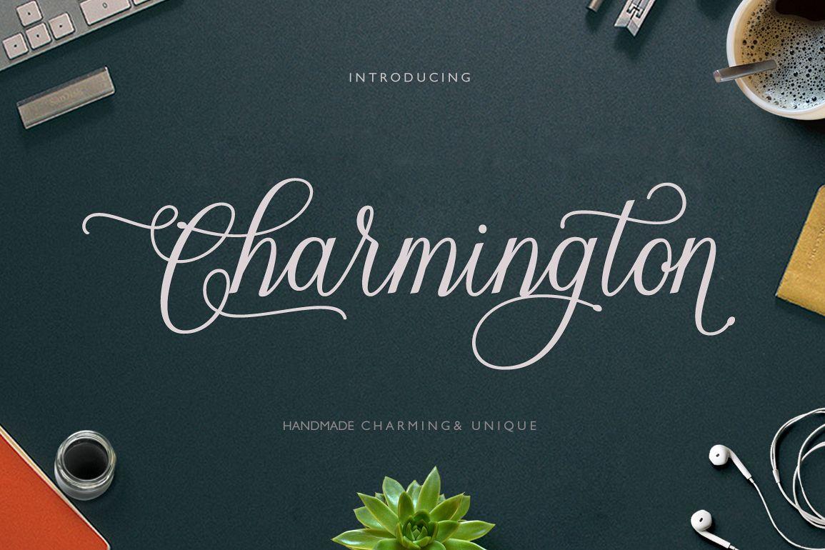Charmington Script 20 off example image 1