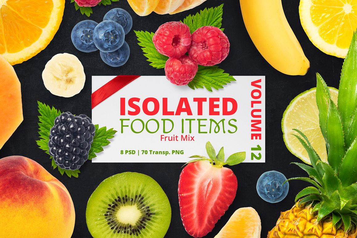 Isolated Food Items Vol.12 example image 1