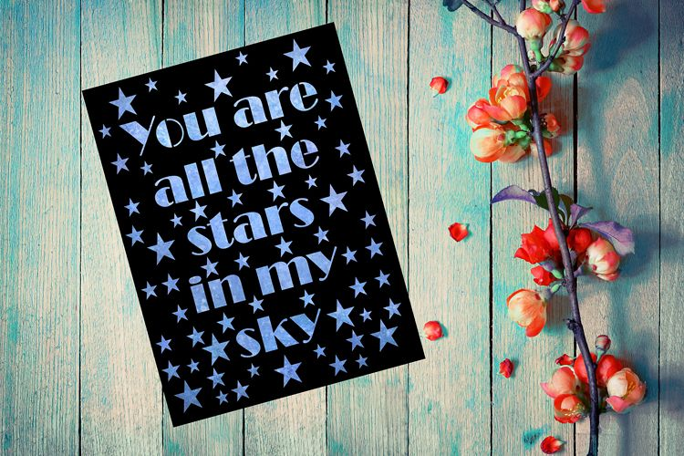 All the stars in my sky example image 1