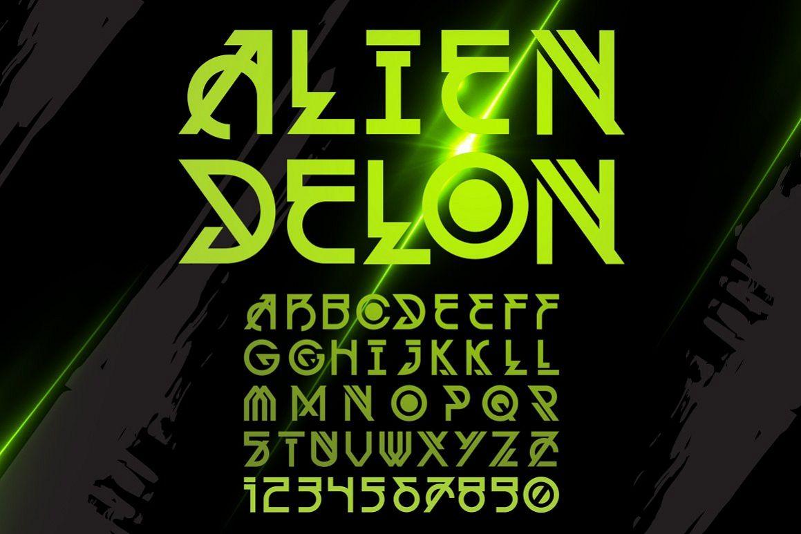Alien Delon example image 1
