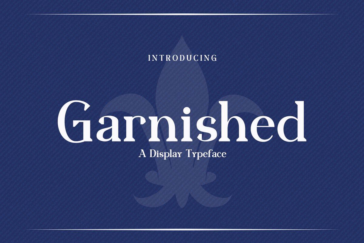 Garnished example image 1