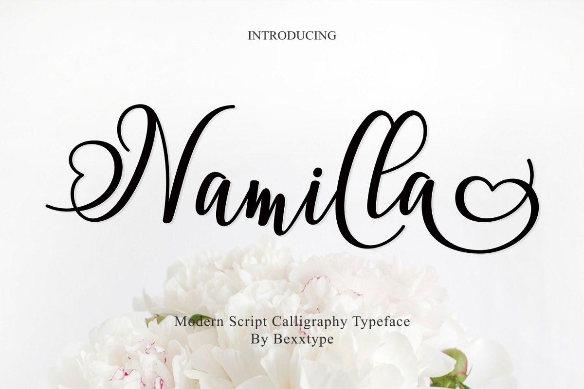 Namilla Script example image 1