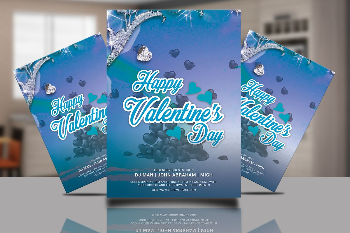 Valentine Flyer example image 1