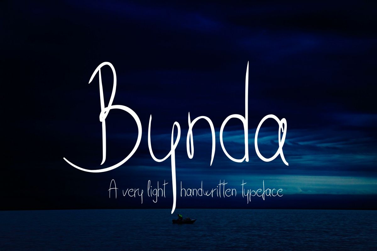 Bynda Font example image 1