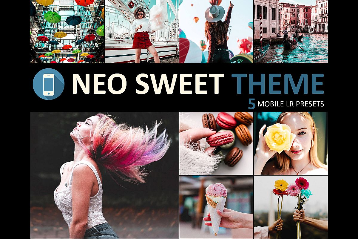 Neo Sweet Theme mobile lightroom presets example image 1