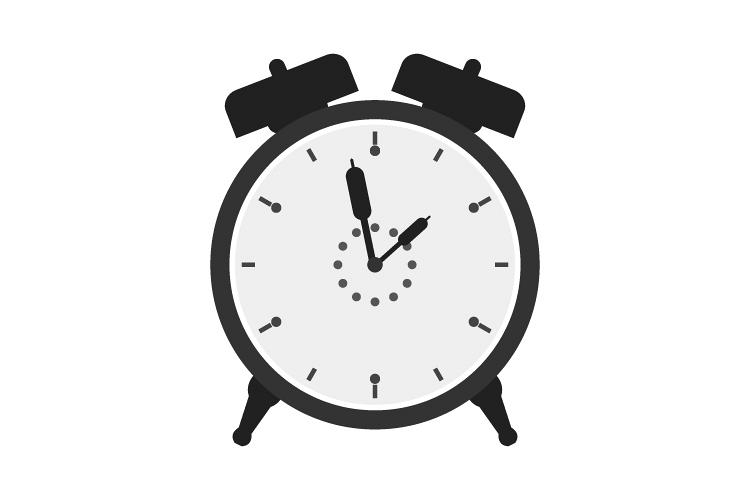 Alarm clock icon example image 1