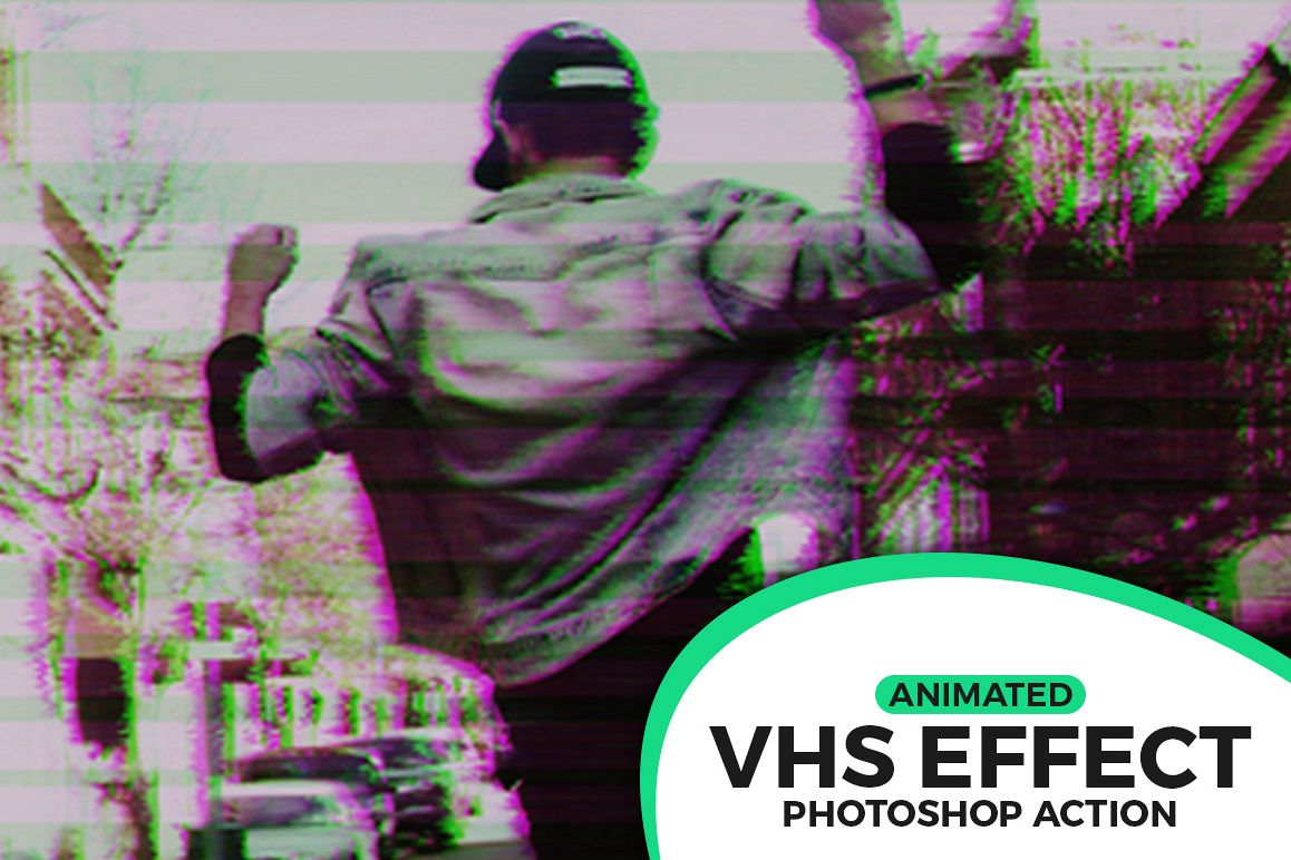 Animated VHS Effect Action example image 1