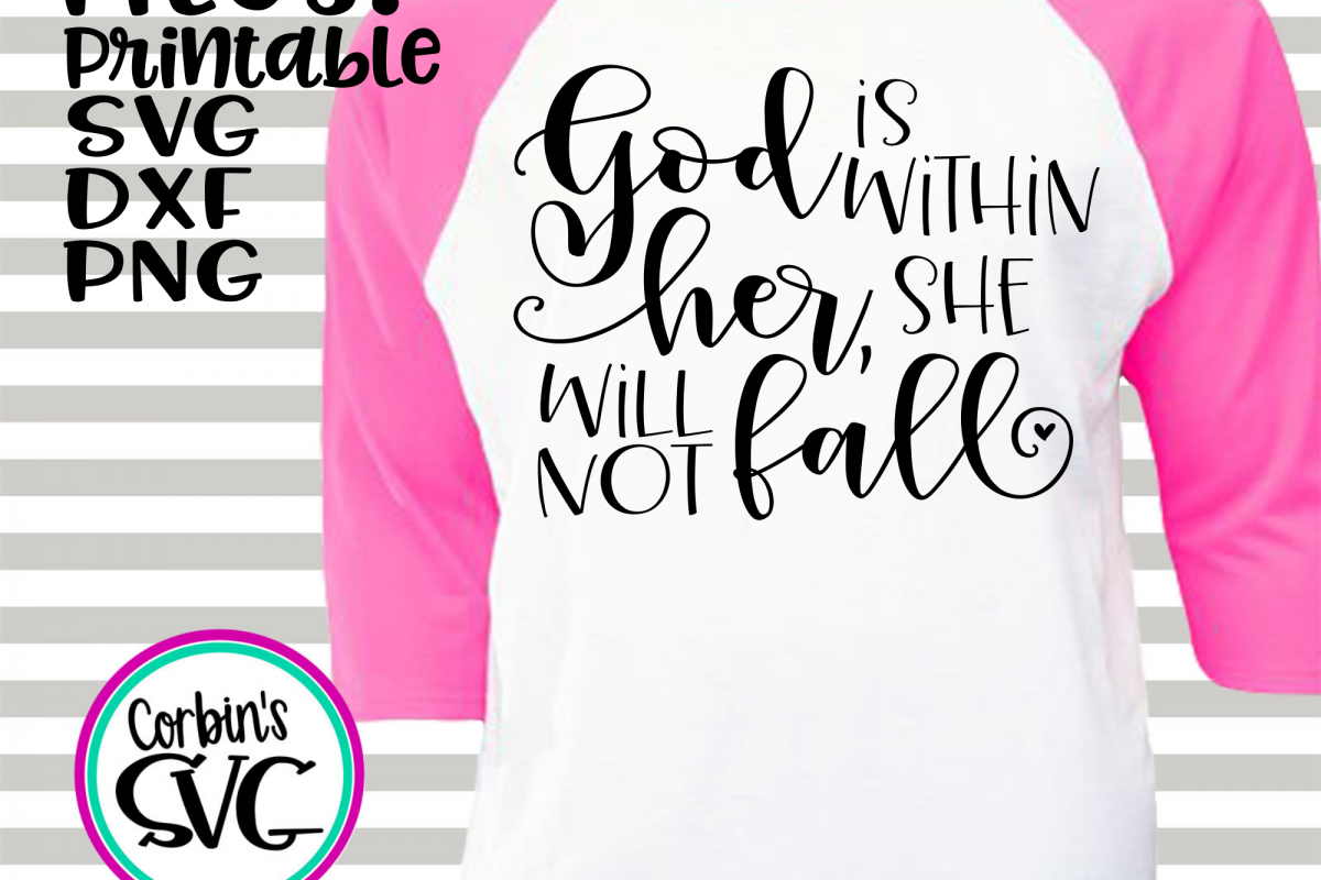 God Is Within Her, She Will Not Fall example image 1