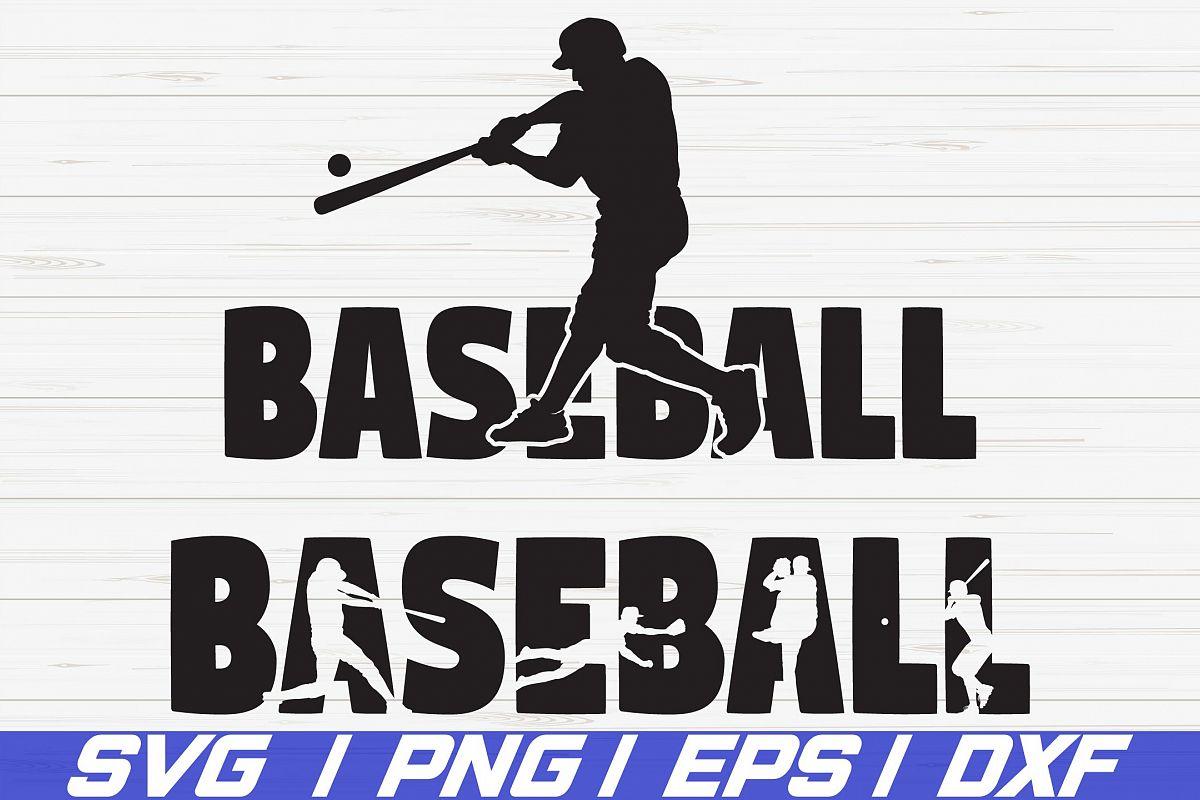 Baseball SVG/ Shirt desgin/ Cut File/ Cricut/ Iron on example image 1