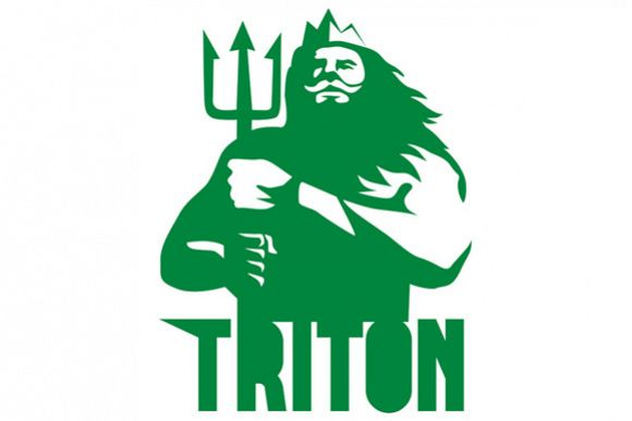 Triton Trident Isolated Retro example image 1