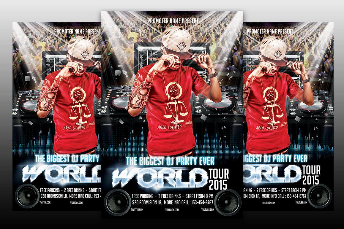Dj World Tour example image 1