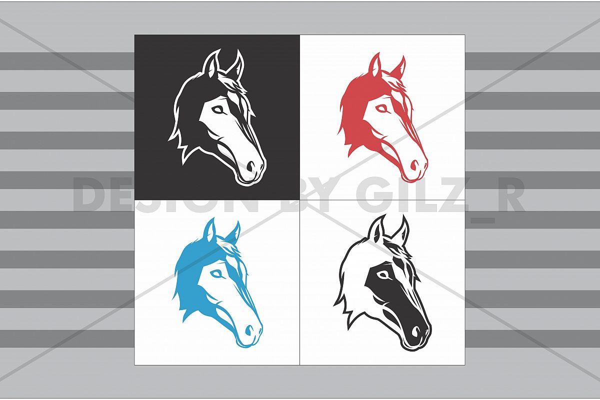 Horse Logo Design Concept, e sport logo, gaming logo, gaming team, sport logo example image 1