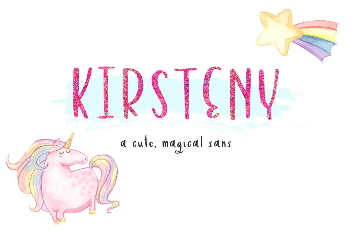 Kirsteny Sans example image 1