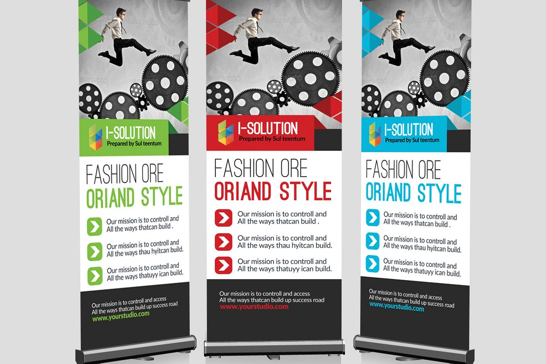 Business Strategic Roll Up Banners example image 1