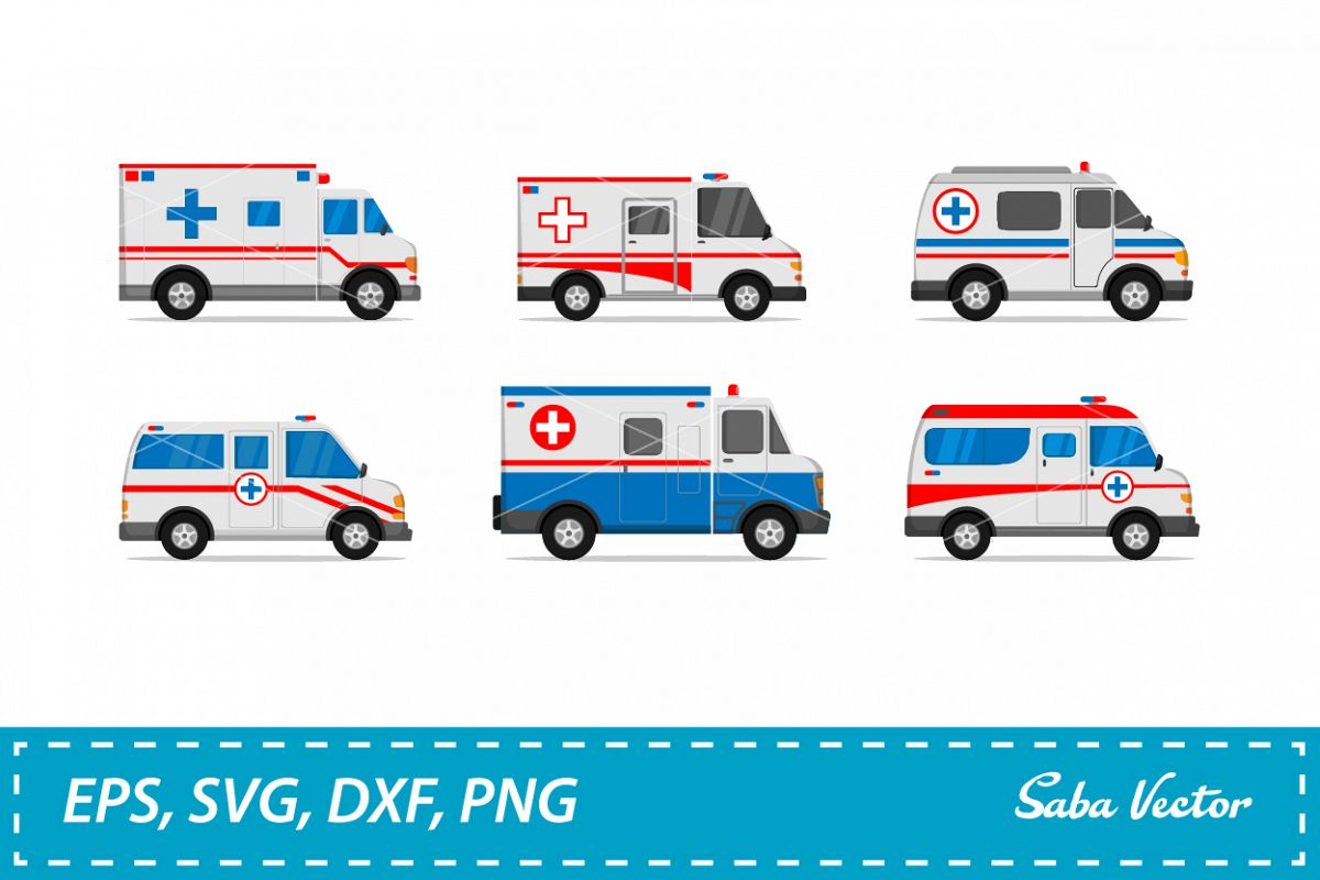 ambulance car icon example image 1
