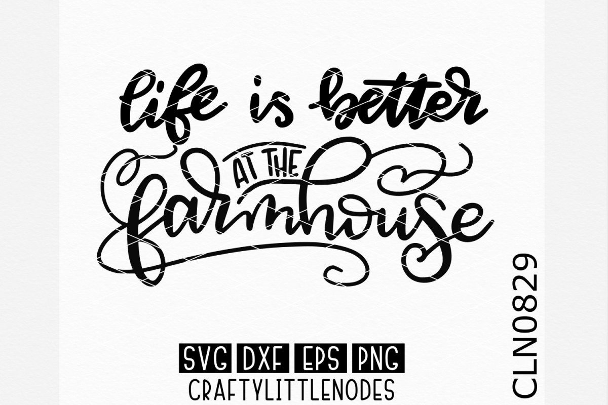 Farmhouse - Hand Lettered example image 1