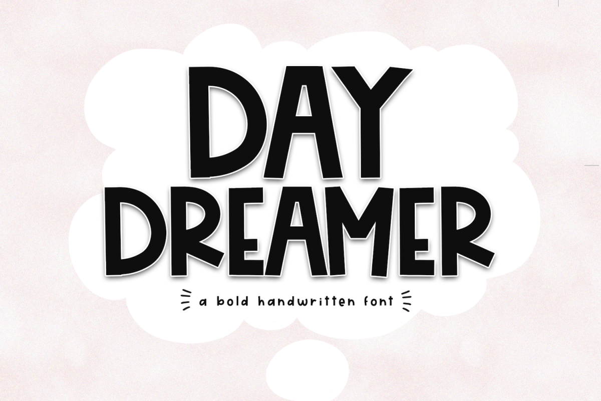 Day Dreamer - A Bold & Cute Handwritten Font example image 1