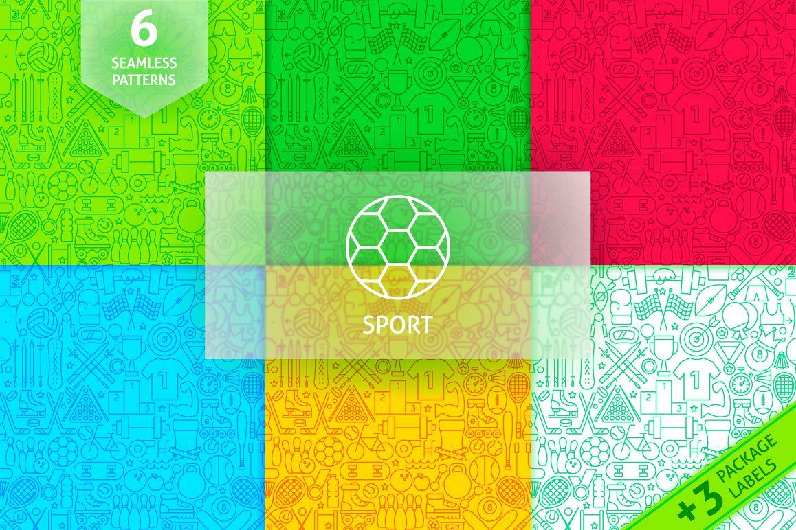 Sport Line Tile Pattern example image 1
