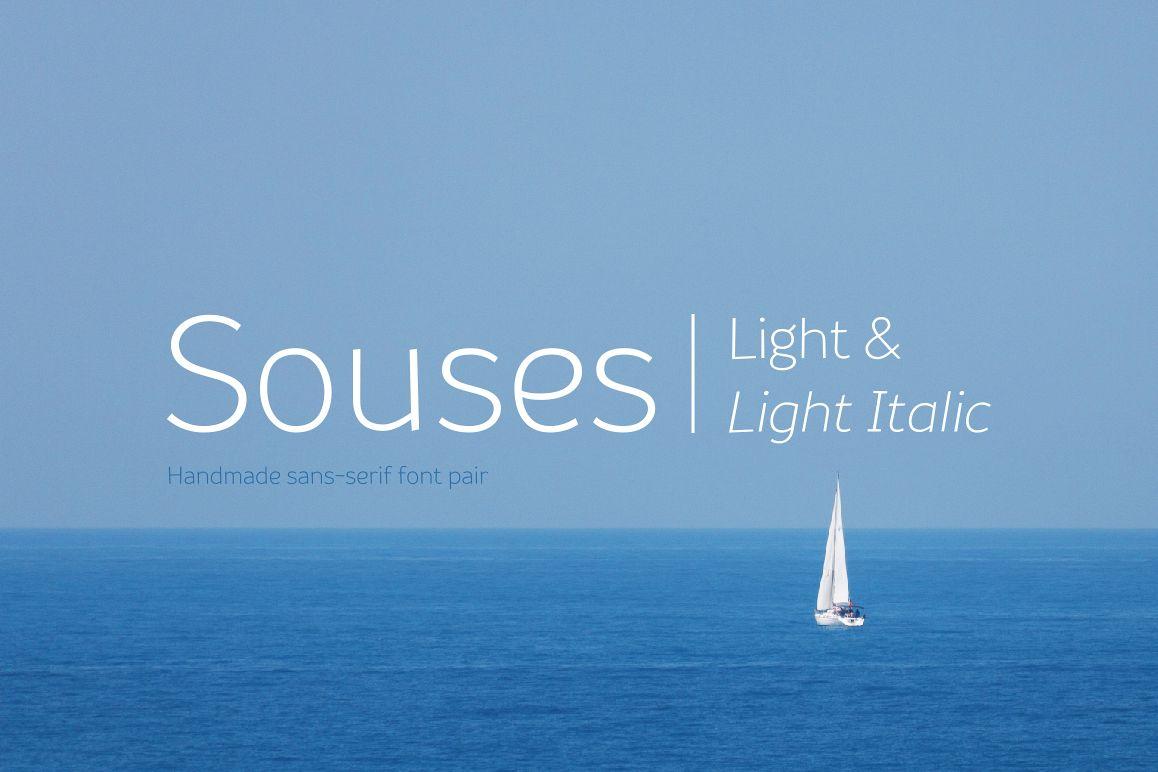 Souses — Light & Light Italic example image 1